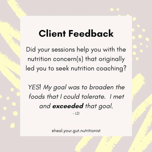 Anna Khesin client feedback